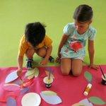 Image for the Tweet beginning: Art workshops for every taste