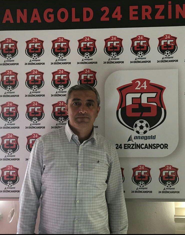 24 Erzincanspor, Teknik direktör Mustafa Sarıgül ile anlaşma sağladı.