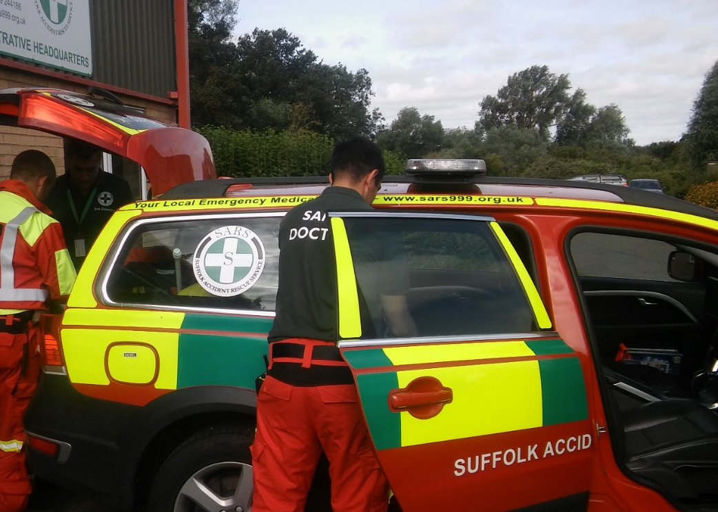 Suffolk Accident Rescue Service (SARS) on Twitter:
