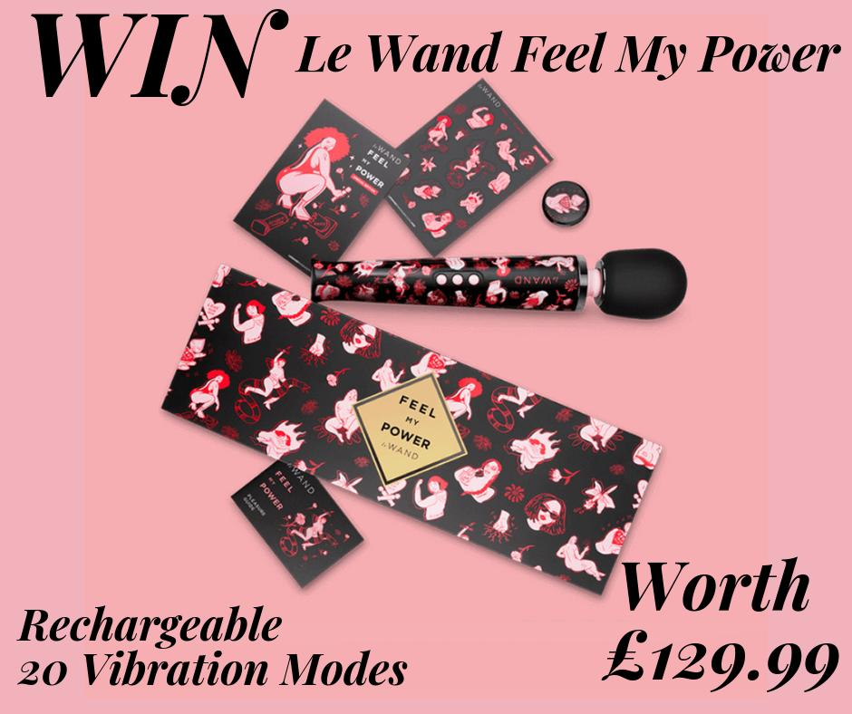 WIN a #LeWand massager, worth £129.99!  The Feel My Power #vibrator has just landed on site & we've got one up for grabs!  To enter, RT this post & COMMENT your fave GIF with the theme of 'wands'   Competition closes 26/07/19. UK only. T's & C's  http:// bit.ly/bondara-terms     <br>http://pic.twitter.com/RdftBFnJ8t