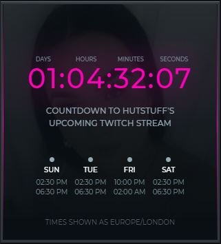 Official Stream Schedule  I think for my first stream, it's going to be a chilled vibe, so canna get to know everyone  Have a great Monday everyone  #twitch #mondaythoughts <br>http://pic.twitter.com/9pQHfPT8U5