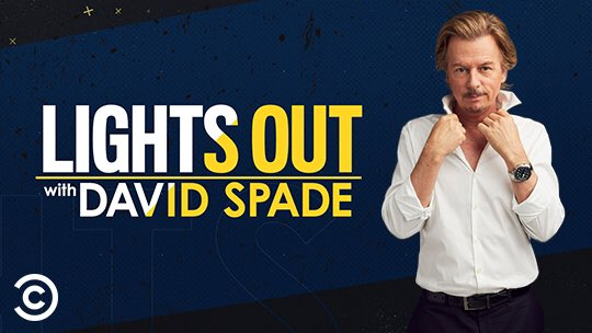Happy Birthday, Lights Out with David Spade debuts 7/29 on