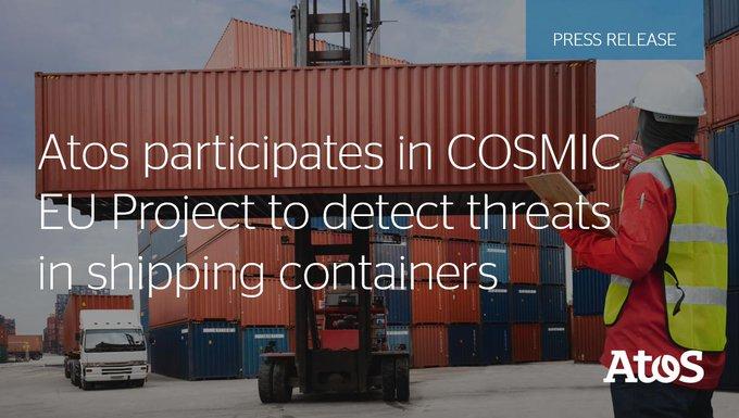 Atos participa en COSMIC, un proyecto europeo de detección de amenazas en contenedores industri...