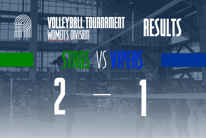 Stags secures a win against Vipers. #WinTheDream #PalarongAtenista2019