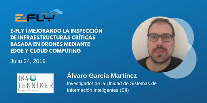 Álvaro García, experto de @IK4_TEKNIKER, con una gran experiencia en proyectos de investigaci�...