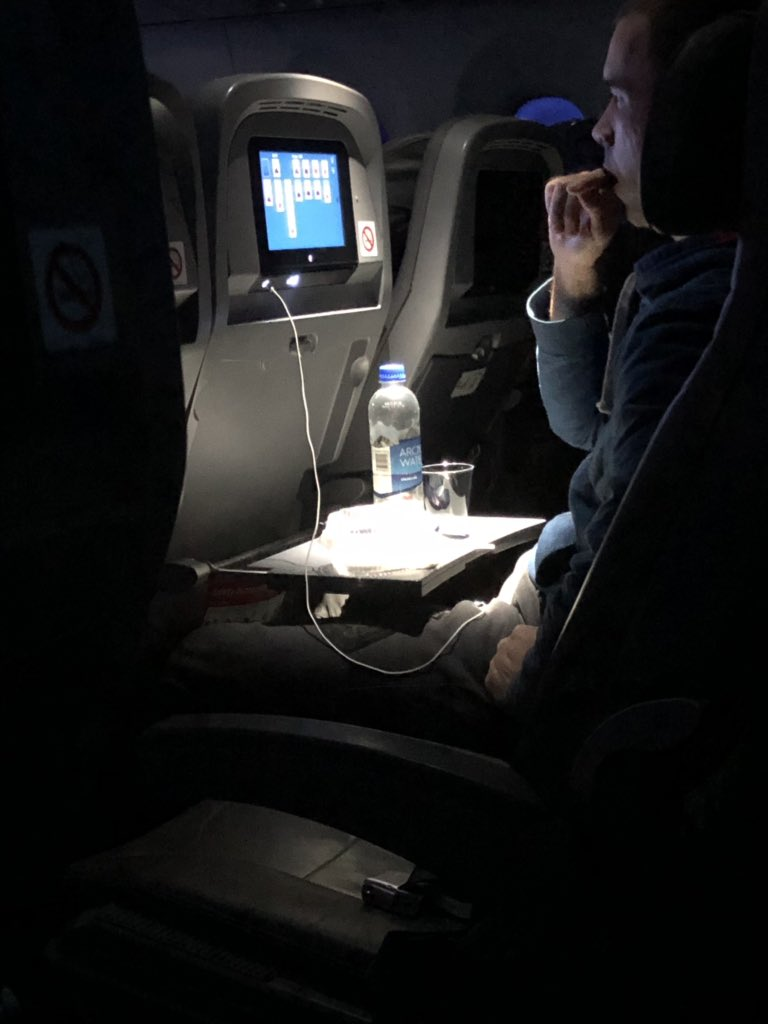 A rare sight: @Jaberwocki practicing Hogaak on the airplane ahead of #MythicChampionshipIV<br>http://pic.twitter.com/fns4dawXAn