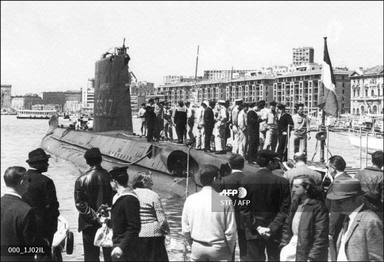 #UPDATE A private search vessel has located the Minerve - a French submarine that went missing in the western Mediterranean more than 50 years ago.  http:// u.afp.com/JhXU      Photo taken in the late 1960s shows the Minerve docked in Marseille  http:// u.afp.com/JhXU    <br>http://pic.twitter.com/tphLir15u1