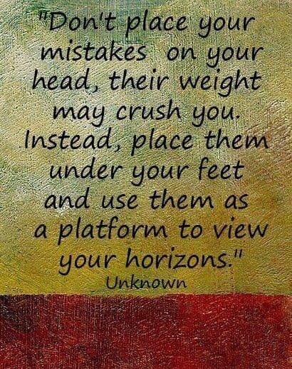 On mistakes #MondayMotivation #MondayThoughts <br>http://pic.twitter.com/2BlIxk565I