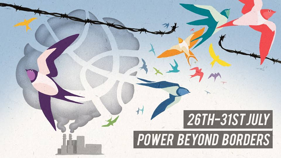 26 JUL-31 JUL // Power Beyond Borders: Mass Action Camp // Hosted by @reclaimthepower // South East England Events details here bit.ly/2JUMlsP