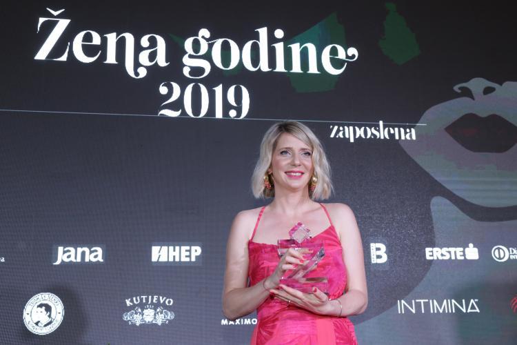 Social Media Post: ++@hrvatskitelekom: Frau des Jahres 2019 ++ Herzlichen Glückwunsch!