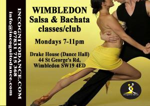 #Wimbledon #Salsa & #Bachata Club are open each Monday for lessons at all levels http://ow.ly/MPfc50uKX9x  Quote LS126 for your 1st time free absolute beginners session