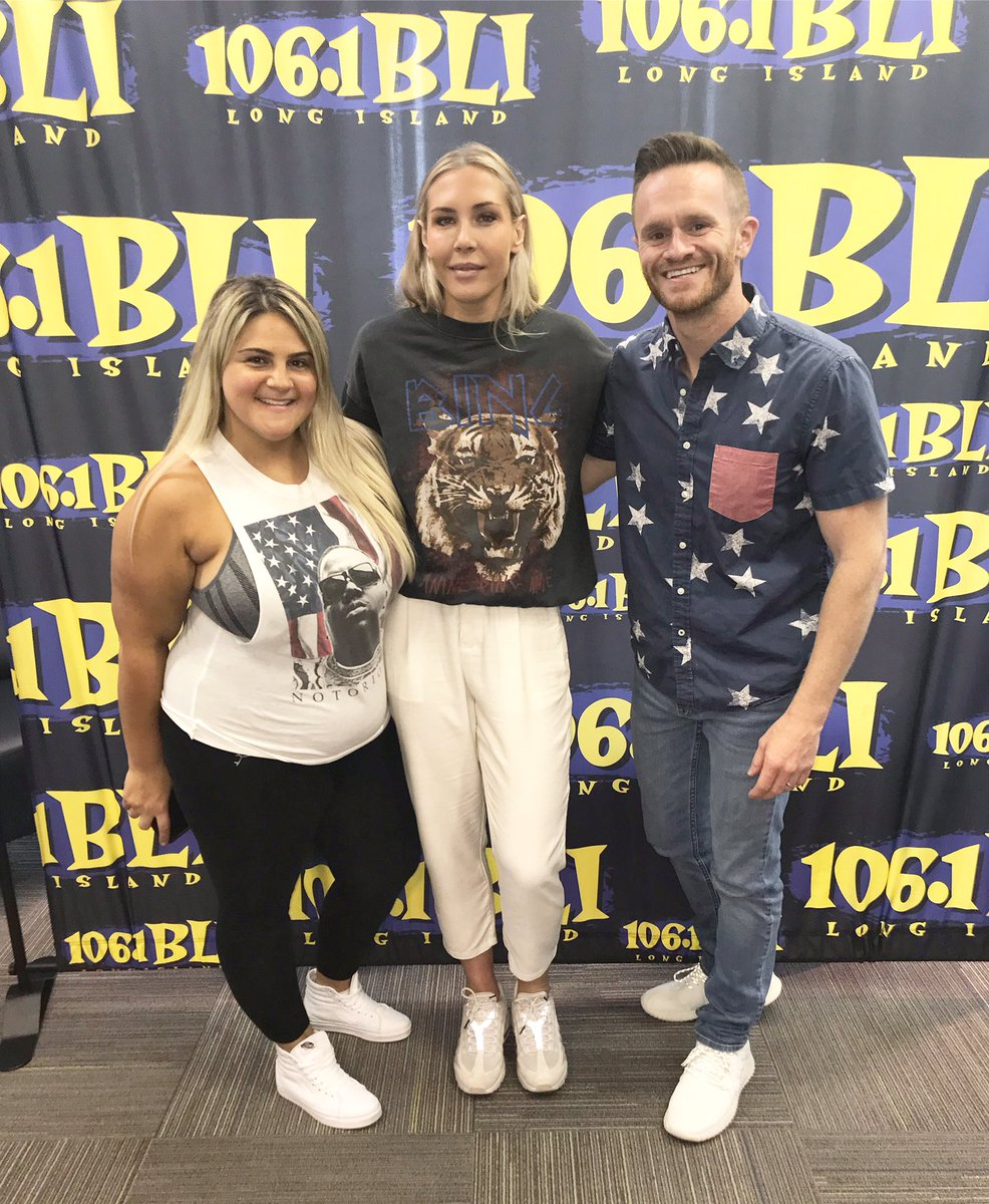 Big day! 🇺🇸 United States Women's National Soccer Team Mid-Fielder & #WorldCup champion @Allie_Long joins @SykeOnAir & @MJonAIR from 7-9 this morning! Talking World Cup celebrations, #equalpay, and women's empowerment; #LISTEN 👉🏼💥 http://m.wbli.com/stream/