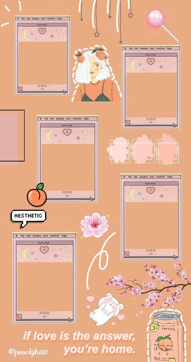 Get 40 View Background Template Jadwal Pelajaran Aesthetic Kosong Png Png
