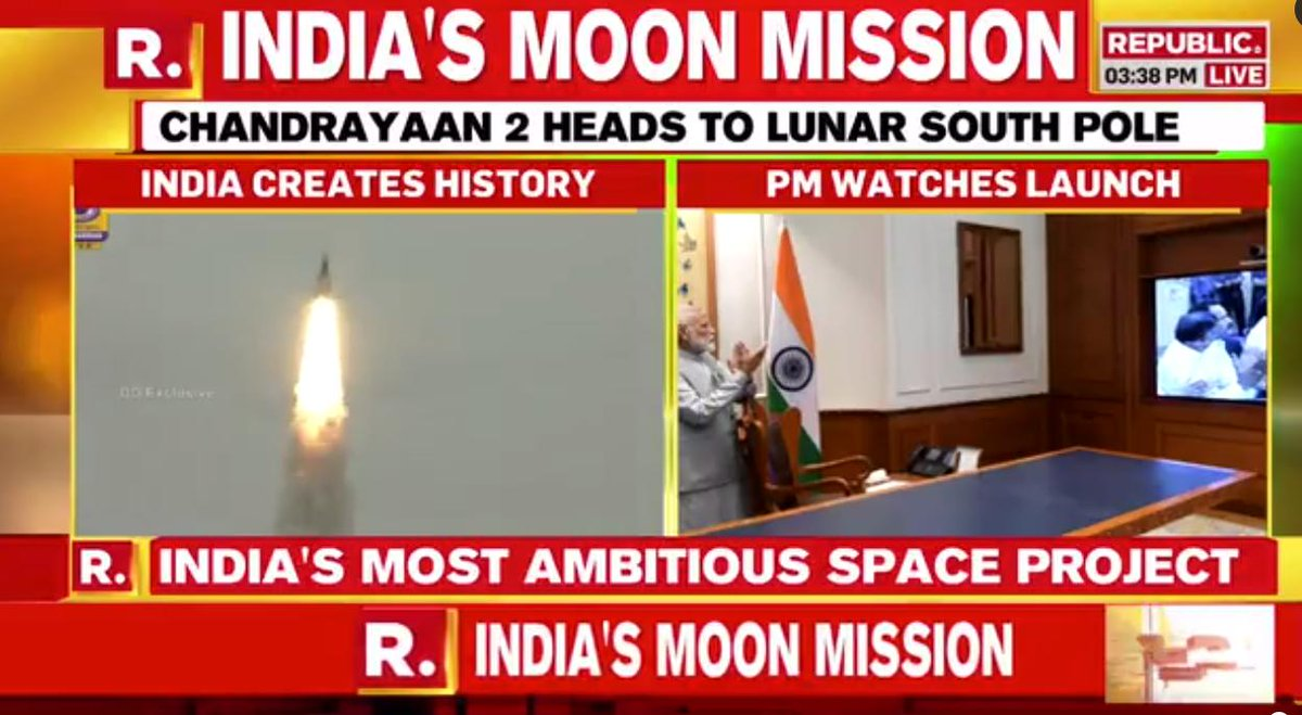 #IndiaOnTheMoon | Tune in for the latest as our team brings you the latest from the Space Centre at Sriharikota. #Chadrayaan2