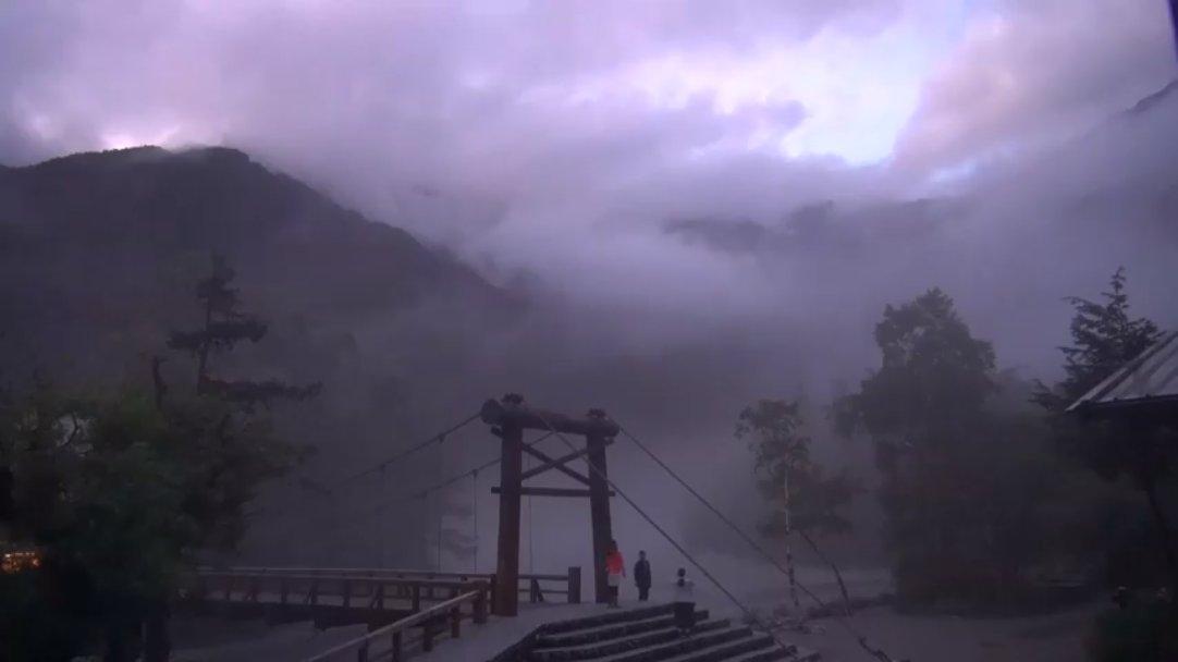 上 高地 ライブ カメラ 河童 橋