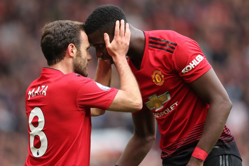 Plenty has been said and written claiming Paul Pogba wants to leave Manchester United but Juan Mata says the midfielder is a positive influence. More: bbc.in/2SsJkSE