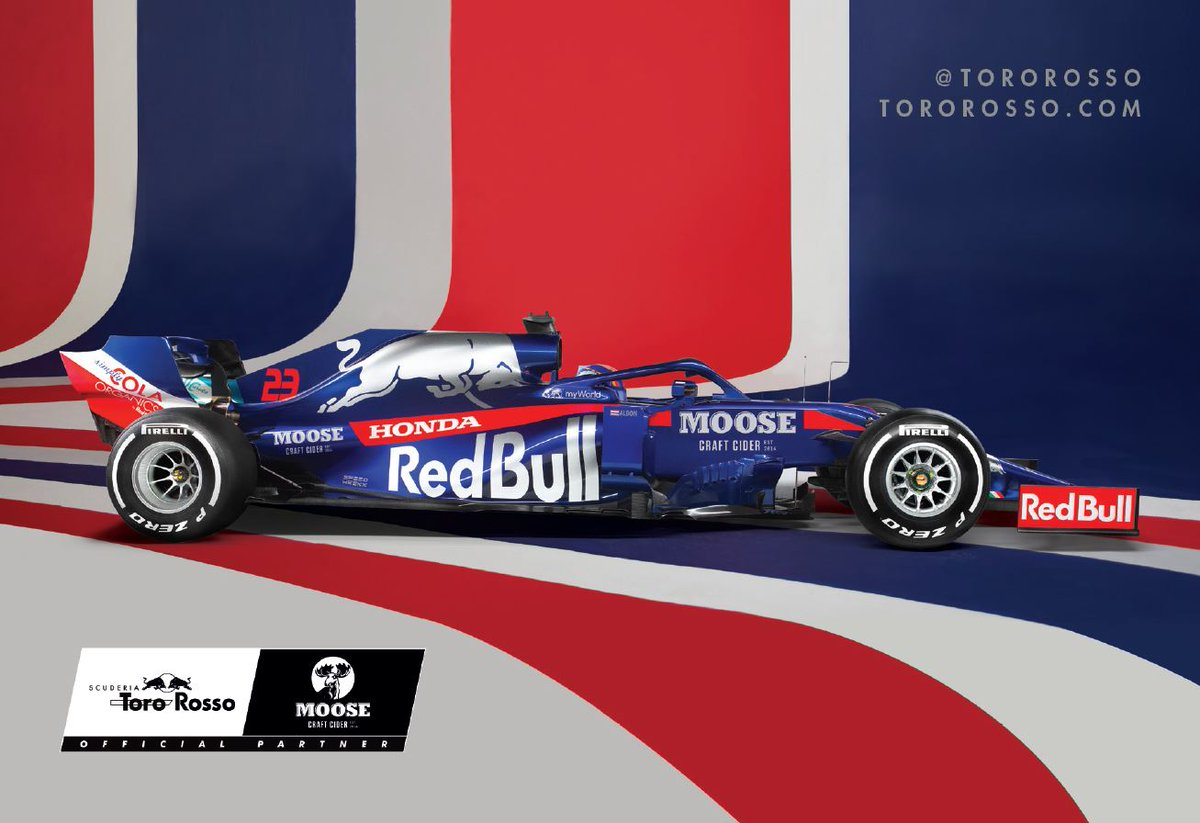 Moose Cider locks horns with Thailand F1 driver @alex_albon and Formula One team Scuderia Toro Rosso   Story 👉 https://t.co/SHcZWk3D3F https://t.co/R1u9YwQWZv