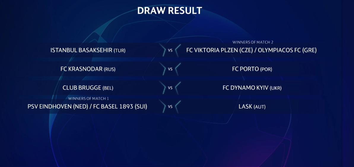 Başakşehir, 3. ön eleme turunda Viktoria Plzen - Olympiakos eşleşmesinin galibiyle karşılaşacak.