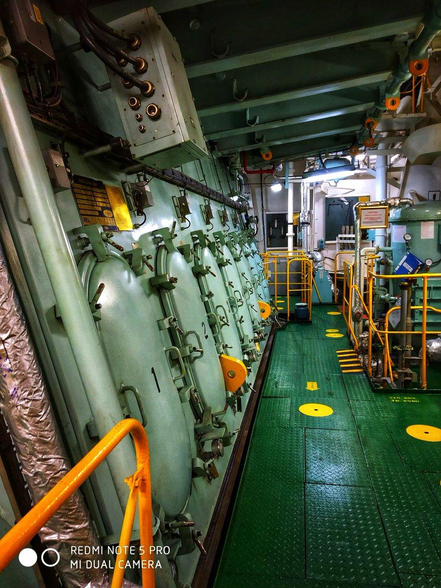 Engine Room #lifeatsea#marineinsight#sea#ship #seafarer#maritime#seaman#sailor#sailing  Photograph by Vishal Kumar