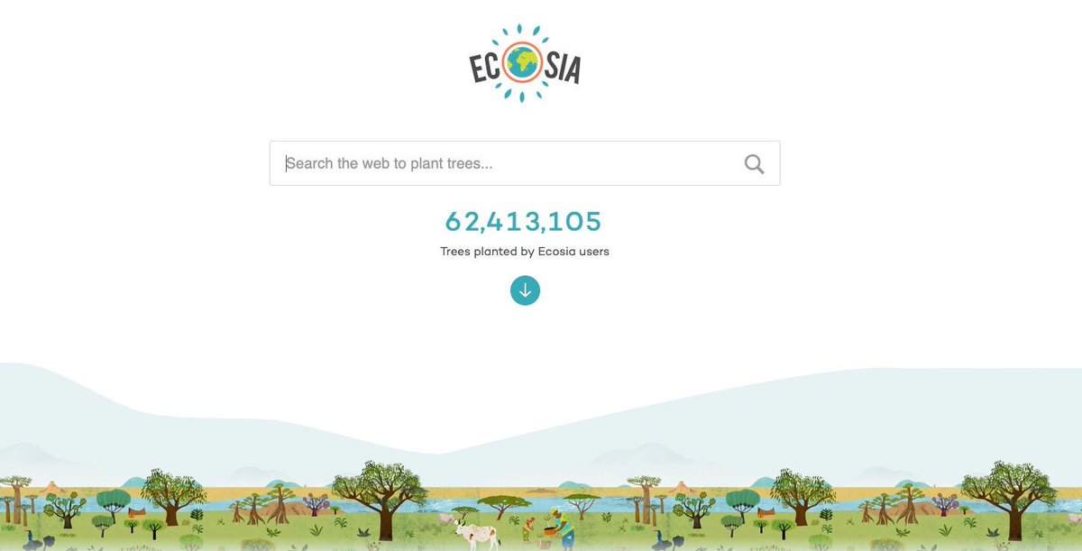 Ecosia is a search engine with a big difference. It uses its profit to plant trees benefiting people, the environment and local economies. The link is below 👇-#Ecosia @Ecosia #PlantATree #ClimateAction #Nepal #love  #savetrees #climatechange ---https://www.ecosia.org