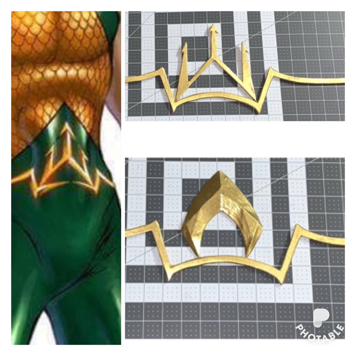 #Aquaman #belt w/ 2 symbol options .  FOLLOW ME ON IG, FB, &TWITTER.Costumes/Custom Apparel by Dean's Lyst #designer #WIP #arthurcurry #justiceleague  #atlantean #atlantis #superhero #dc #dccomics #commission #cosplays #cosplay #smarterthanitseams #custommade #cosplayyourway