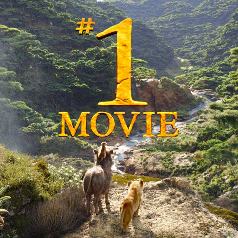 #TheLionKing is the #1 movie in the world. See it in theatres today.