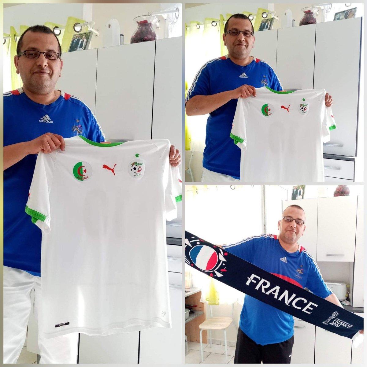 Et #FDP de @DamienRieu  je supporte mes deux pays la #France 🇫🇷 et #Algerie 🇩🇿 je suis fier de çà #FiersdetreBleus #ÉquipeDeFrance #123VivaAlgerie #ÉQUIPEALGERIE