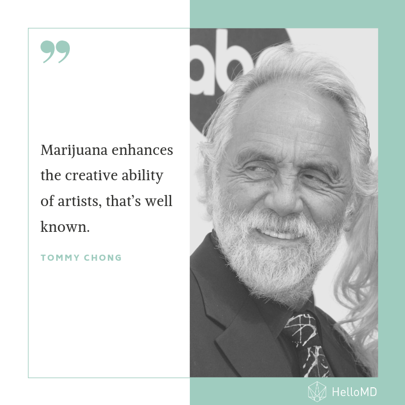 You have a valid point here @TommyChong. One of the first studies on #cannabis and #creativity, conducted back in the 1970s, found that cannabis was linked to more original thoughts. Read more on recent studies linking cannabis and creativity here: http://bit.ly/2XNoNhF