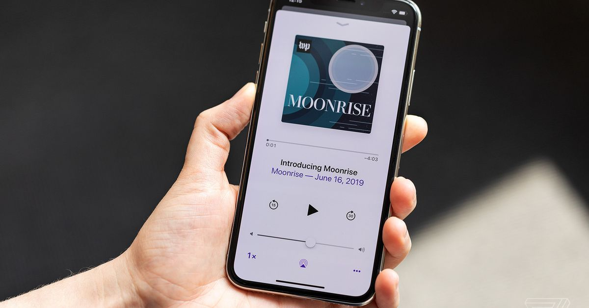 #Moonrise looks to the space race to find out what we can learn about returning to the Moon https://www.theverge.com/2019/7/21/20702707/moonrise-space-race-lillian-cunningham-washington-post-podcast-apollo-11-anniversary…