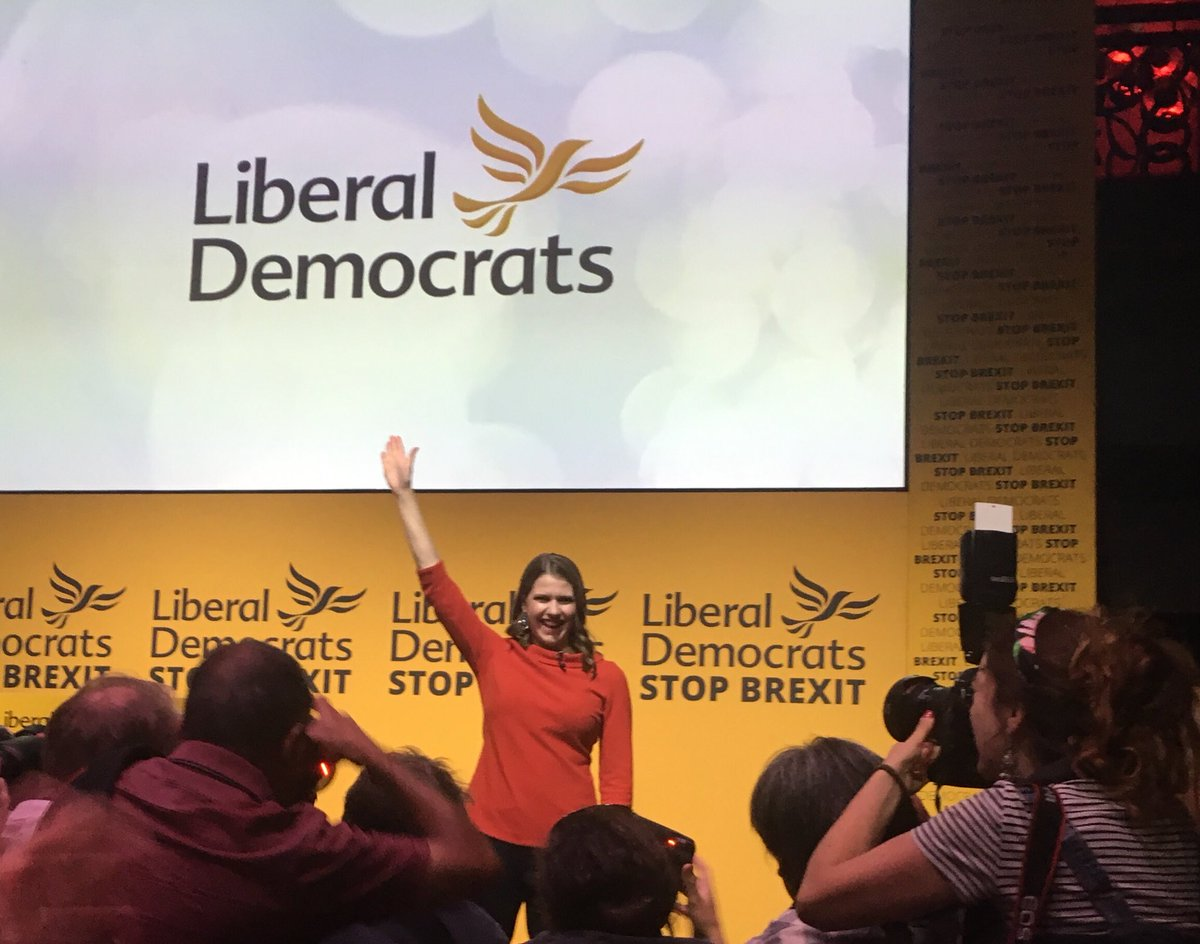 Fantastic majority for @JoSwinson in #LibDemLeadership election.  So brilliant to have our first woman leader and no one has more passion to stop Brexit - I can't wait for this journey to begin. #LibDems<br>http://pic.twitter.com/RwRZWSHEse