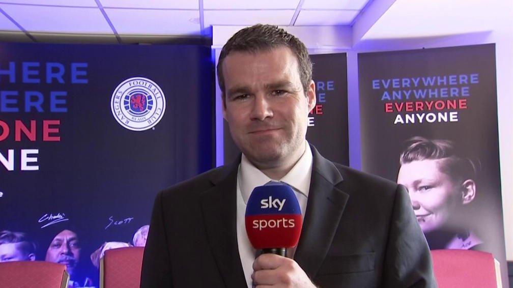 """📽️ WATCH 📽️  Rangers launch #EveryoneAnyone campaign ☑️ Fan behaviour at football in Scotland ☑️ """"No bids"""" for Morelos ☑️  @RangersFC managing director Stewart Robertson talks in detail about the club's new diversity campaign & discusses Alfredo Morelos' future."""