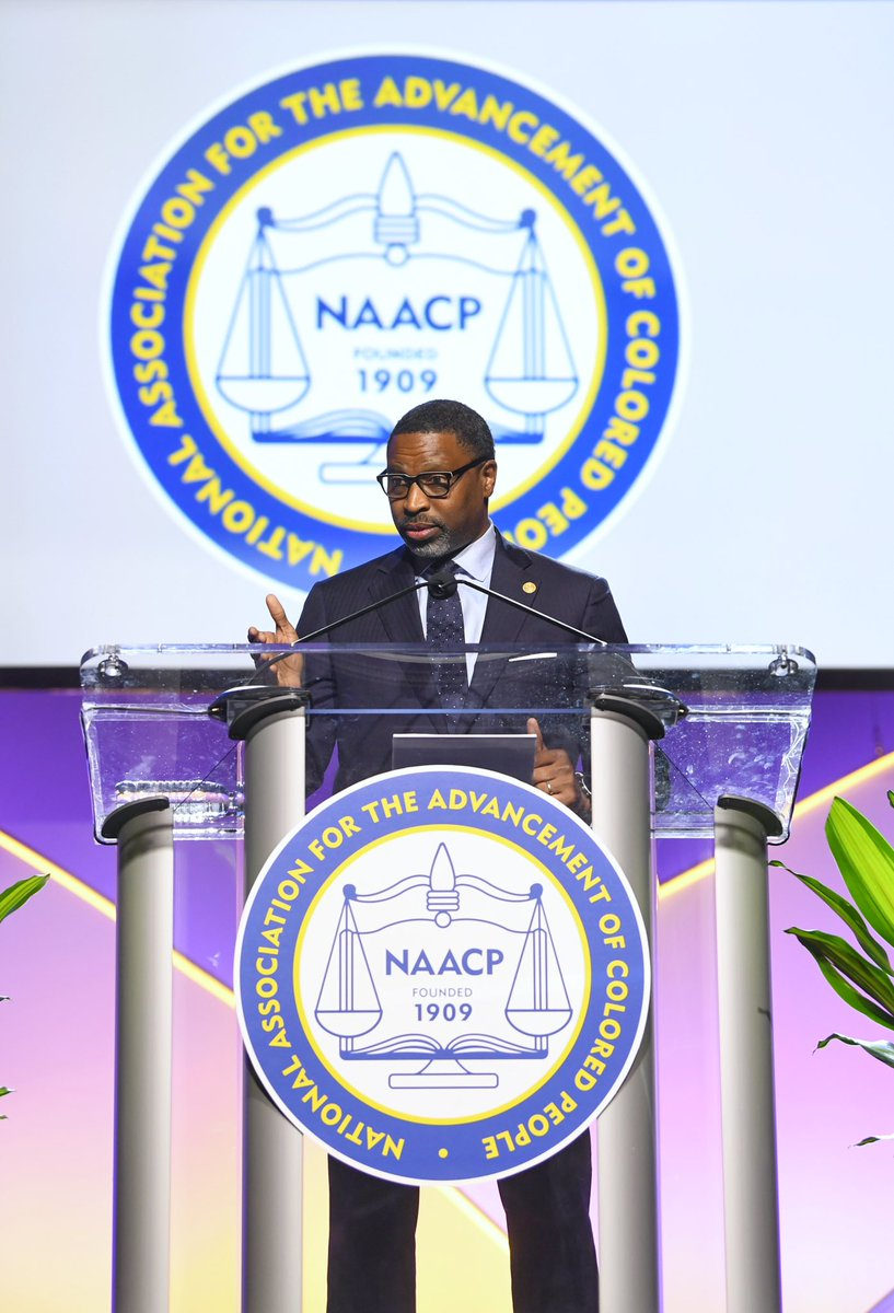 Whether you're a democrat or a republican, if you take the black vote for granted we won't vote for you. #NAACPConvention #WhenWeFightWeWin
