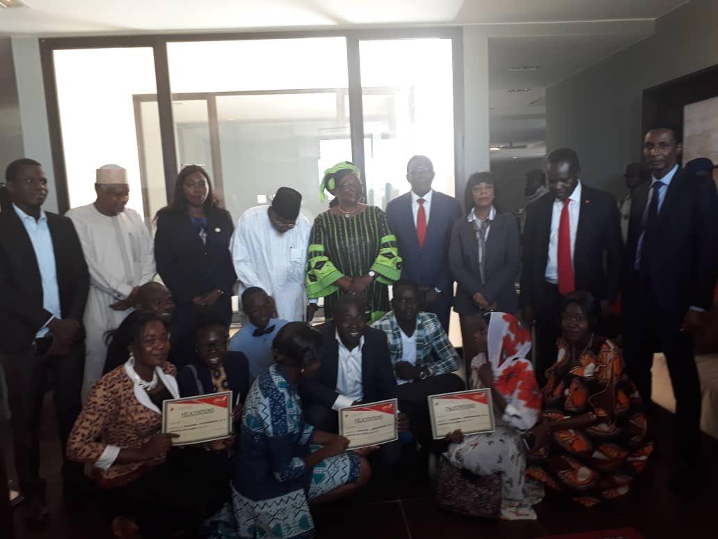 """Lancement du programme TEF-PNUD pour l'appui  aux #jeunes #entrepreneurs du #Sahel. """"Nous espérons que les jeunes répondront nombreux à l'appel de la @TonyElumeluFDN et nous encourageons aussi les entités du secteur privé à rejoindre cet effort"""" soutient @carolflore_undp. #YOUTH"""
