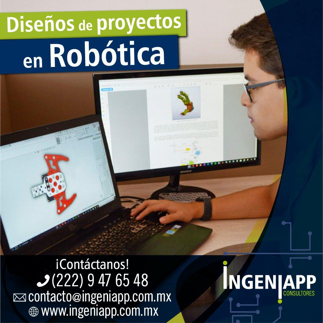 Desarrollo y Diseño de Proyectos en Robótica #Robotics #Robot #Ingeniapp