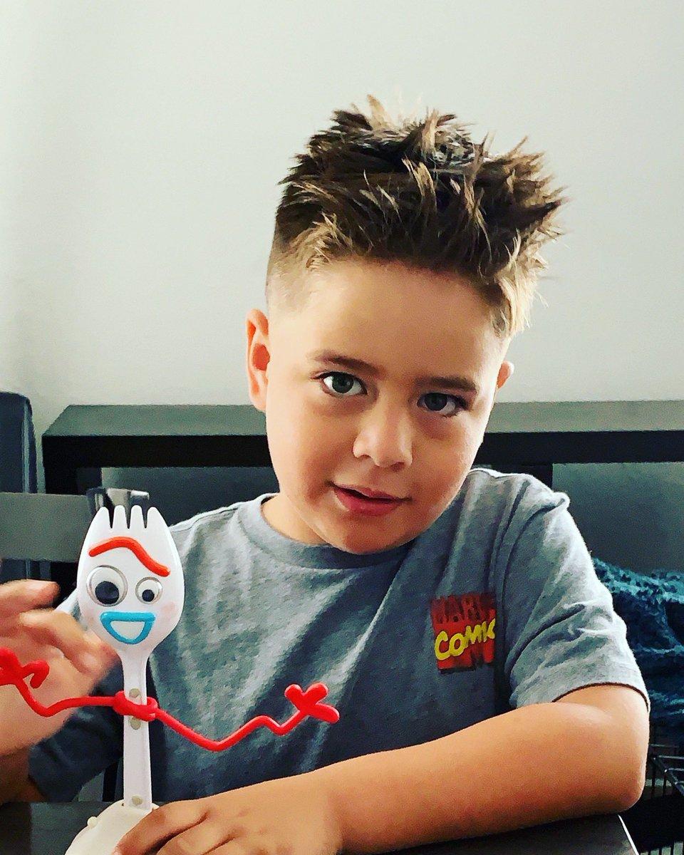 My #MondayMotivation #Clarkie & #Forky #ToyStory4 💙