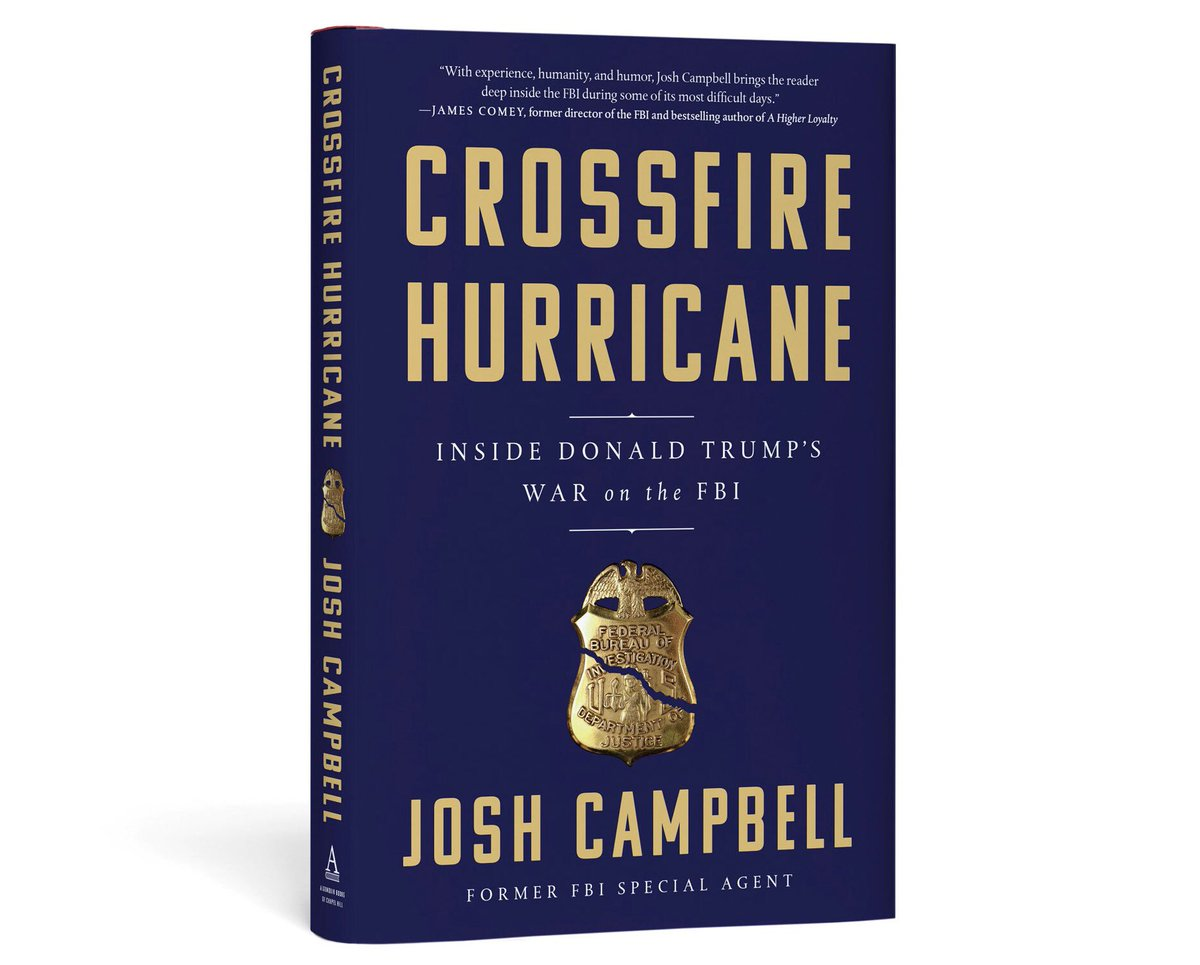 just ordered this - cant wait - thank u josh for writing it #FBI