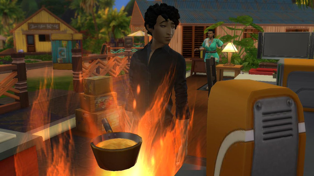 test Twitter Media - here are some more screenshots. tbh i kinda want to redraw a couple of these as warmups lmao. also. this was umataro when the stove caught on fire. this game is cute sometimes https://t.co/8BhufAUV3t