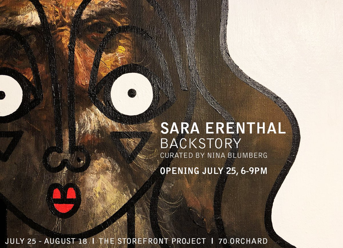THE STOREFRONT PROJECT ANNOUNCES ARTIST SARA ERENTHAL'S         UPCOMING SOLO EXHIBITION BACKSTORY Opening Reception:Thursday, July 25, 6-9pm On View: July 25- August 18, 2019    For More info: https://t.co/SBergYyjJq https://t.co/KJky9hVDtv