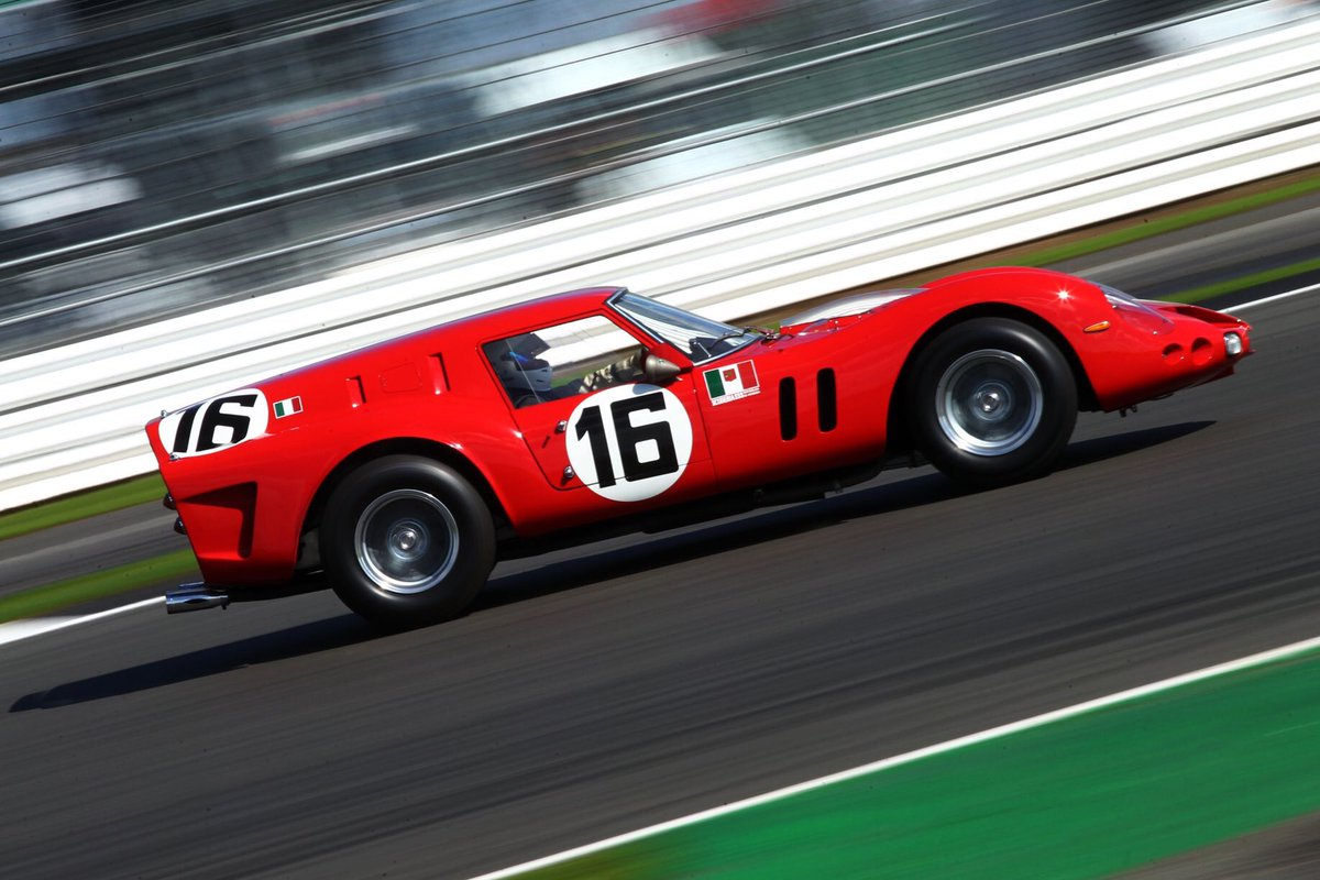 Unmissable cars at the Classic:   Scarlet racing Ferraris are always very special but the priceless 250 GT SWB 'Breadvan' is also totally unique.  It'll be a front-runner in Saturday morning's Royal Automobile Club Tourist Trophy for Pre '63 GT Cars!  #SilverstoneClassic <br>http://pic.twitter.com/F0VeZzROvI