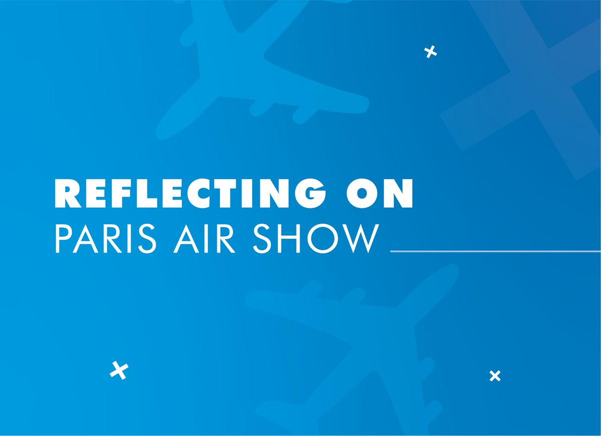 In June, many of our employees attended the Paris Air Show. For some, it was their first time; others had been many times before. ✈️ Find out what they thought about #PAS19: http://bit.ly/2Z7DtVz