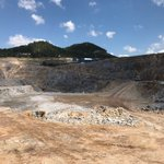 Arzu South pit taken from the southern end, looking NW #AAU #gold #mine https://t.co/Dlz8w6PmE6