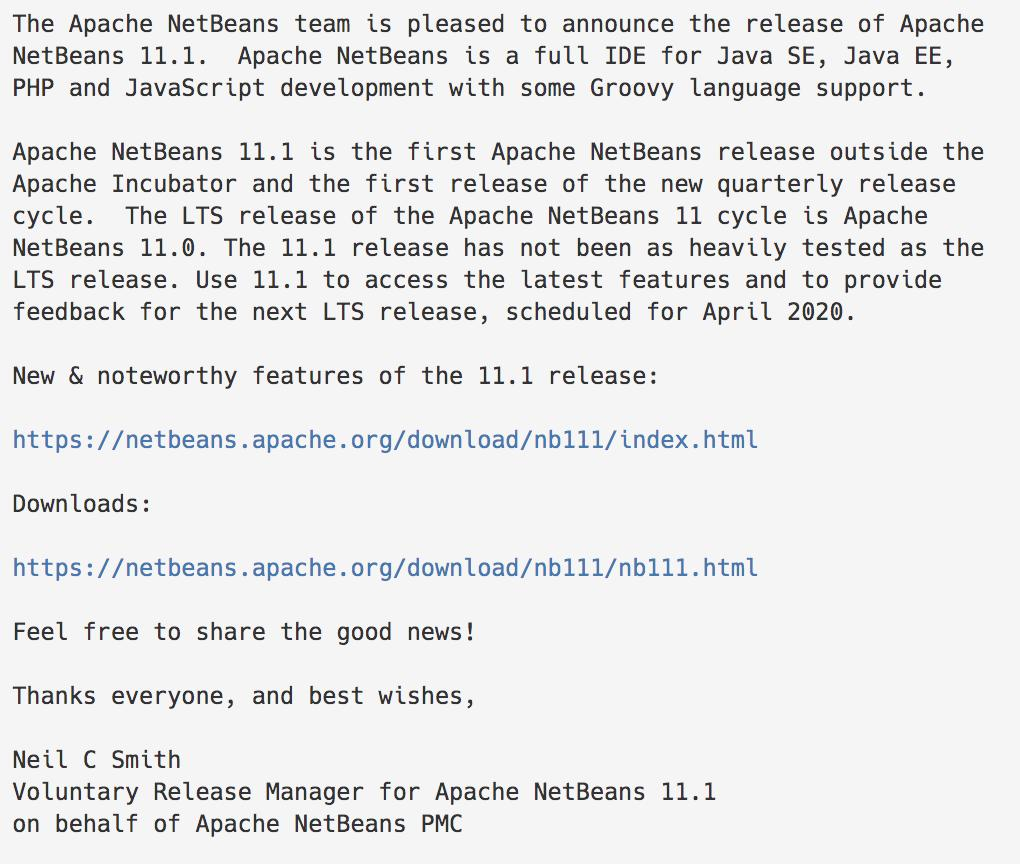 Apache NetBeans (@netbeans) | Twitter