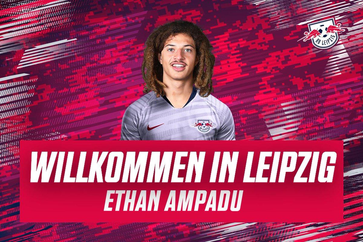 Leipzig, Chelsea akademisi ürünü Ethan Ampadu'yu 1 yıllığına kiraladığını açıkladı.