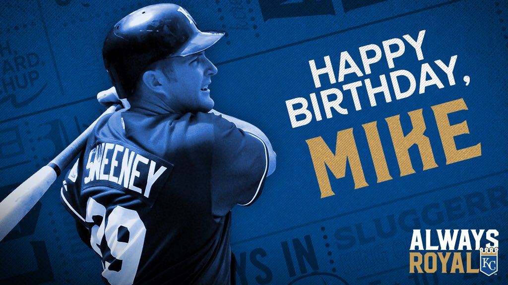 Happy Birthday to five-time All-Star and #Royals Hall of Famer Mike Sweeney! #AlwaysRoyal