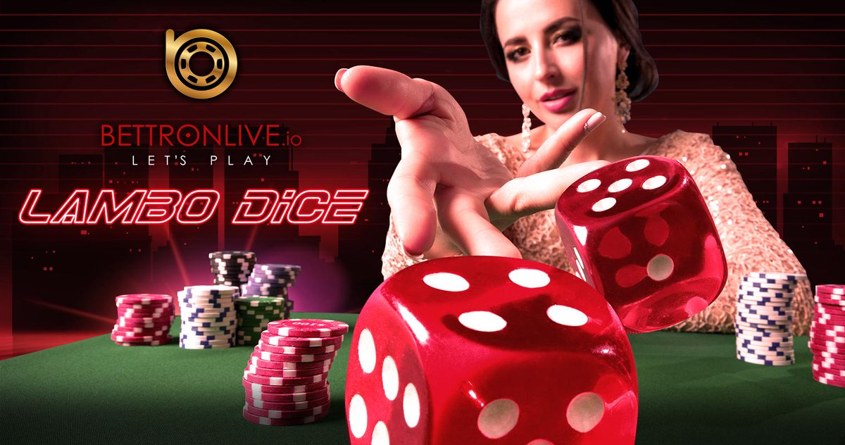 #BetTronLive #Lambo #Dice has a simple #interface. Set a #bet value by guessing on the outcome of a roll of the dice, then scroll or click on the middle of the Lambo #Dashboard.  #RAKE #TRON #TRX #tronDapp #FOMO #livedealer #onlinecasino #blockchain #livesports #PKR #mining