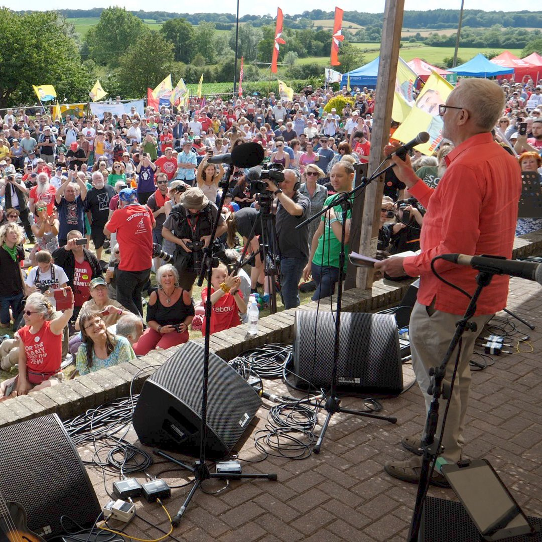 I was in Tolpuddle yesterday. It confirmed something very important, and which the media is working 24/7 for people to forget.  Labour will form the next government if it makes the unapologetic case for socialist, transformational politics.