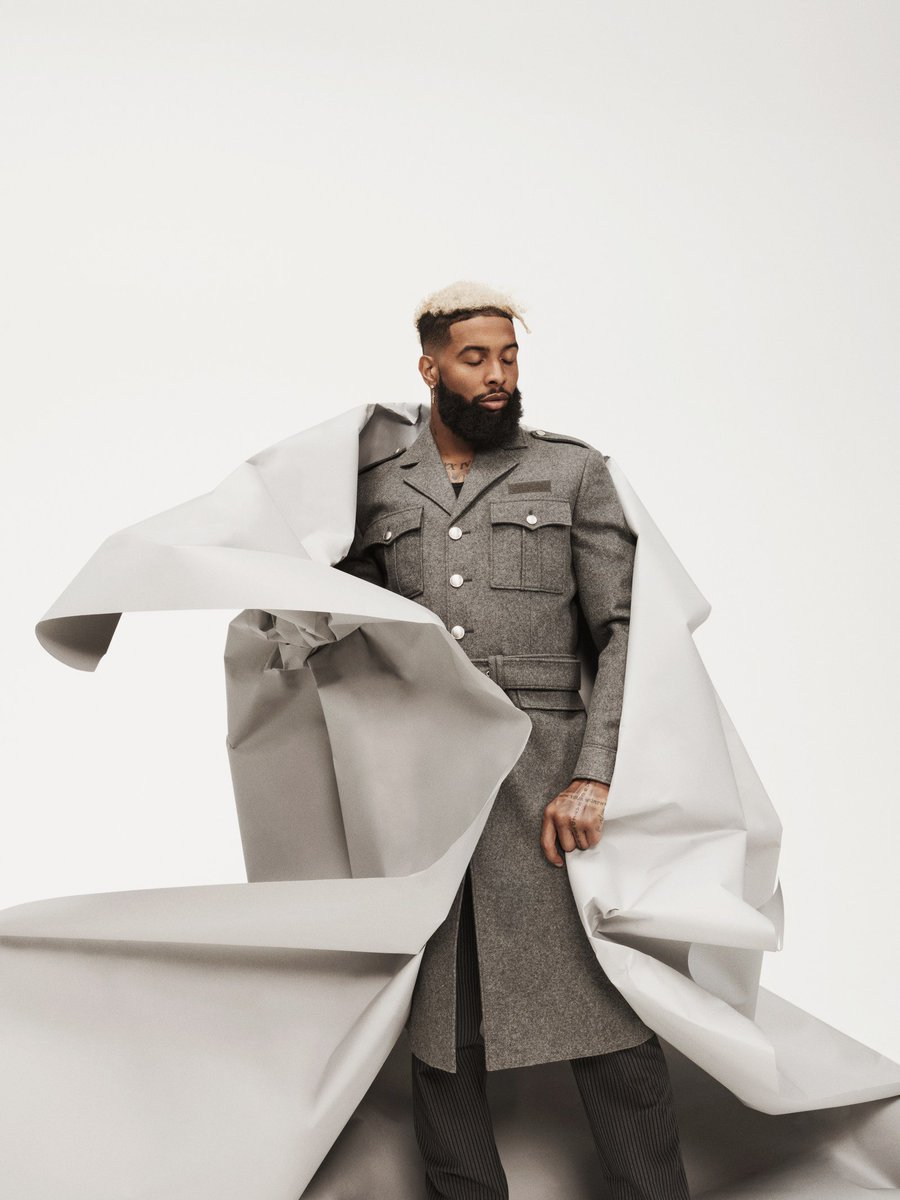 Odell Beckham Jr. for GQ is exactly the content I need to start my week  https://www. gq.com/story/odell-be ckham-jr-interview-august-2019-cover   … <br>http://pic.twitter.com/icJ1CWUxzo