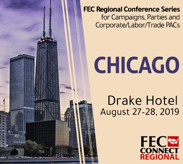 The early bird discount for the FEC's Chicago Regional Conference ends Saturday, July 27, so register now and save. https://t.co/zrzWnEFoYc https://t.co/9QauEfIFbc