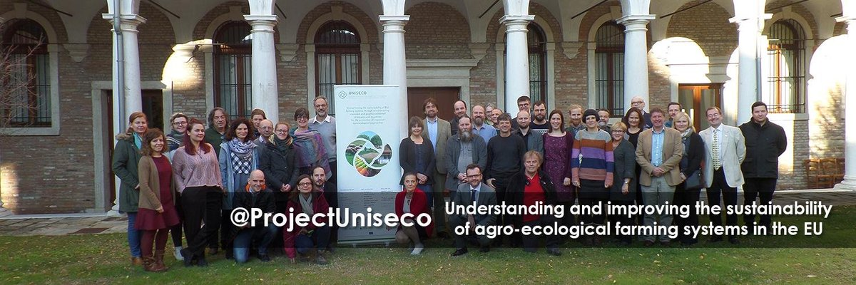 retweet @ EU_H2020: RT CORDIS_EU: Meet the #EUfunded ProjectUniseco team that is aiming at understanding and improving the sustainability of agro-ecological farming systems  ➡️ http://uniseco-project.eu   ↪️ Want to be our next Twitter #header?  Send us yo…