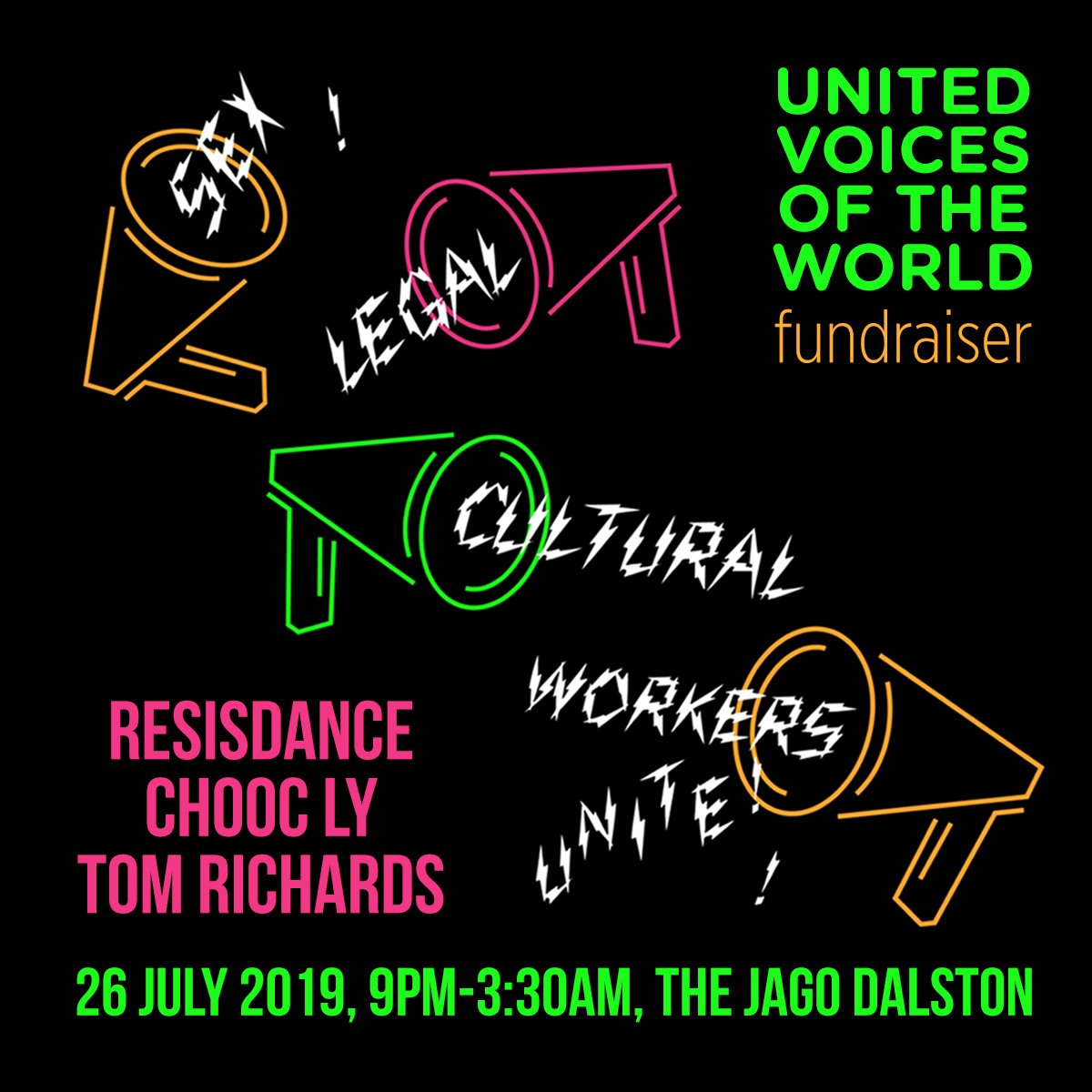 Comrades @UVWunion are launching 3 new members groups with a wicked party. Well be there to support sex + legal + cultural workers, dance to @ResisDanceLdn @ChoocLy & watch performances by unionised strippers! facebook.com/events/1721013… w @LSWUnited @unitedstripper @evening_class